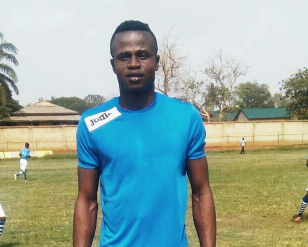 Mpuasuman United's 13-goal striker Christian Amankwaa pushing for Asante Kotoko move