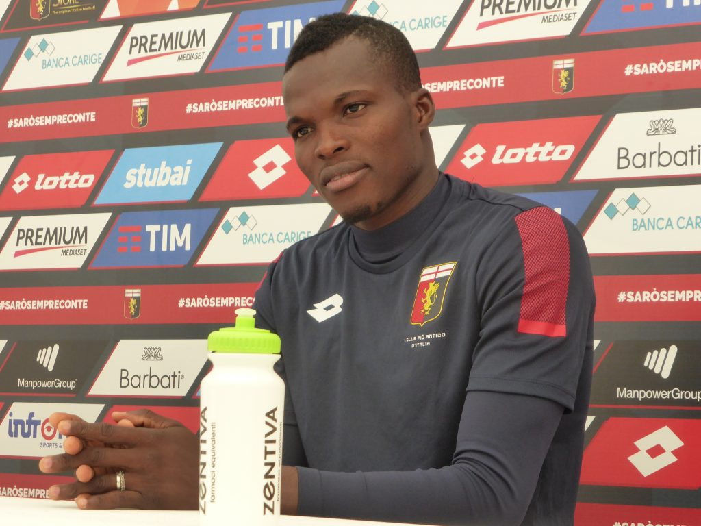 Genoa midfielder Isaac Cofie hospitalized after contracting an infection