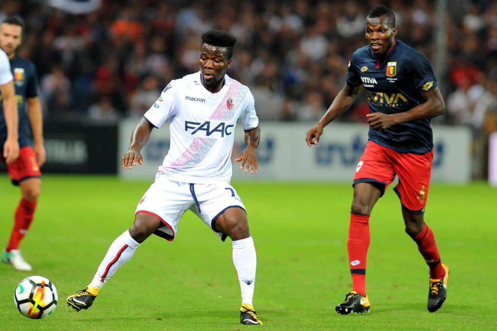 Bologna midfielder Godfred Donsah thrilled with away win over Genoa