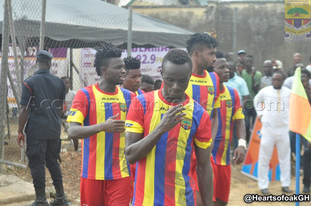 Hearts coach Henry Wellington heaps praises on Daniel Kordie after superb Medeama outing