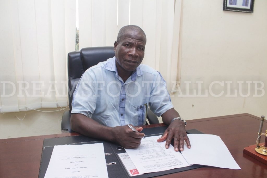 Former Ghana goalie Edward Ansah appointed Dreams FC Deputy Manager