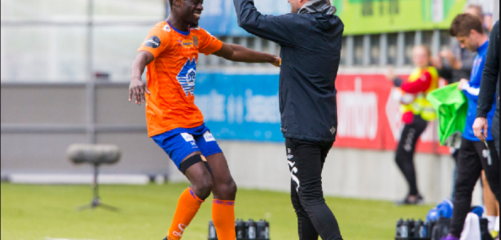 Ghana winger Edwin Gyasi scores but not enough to save Aalesund FK from heavy defeat