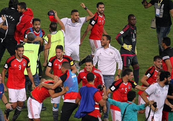 VIDEO: Egypt fan celebrates Mohamed Salah's injury-time winner that secured Pharaohs' place at the World Cup