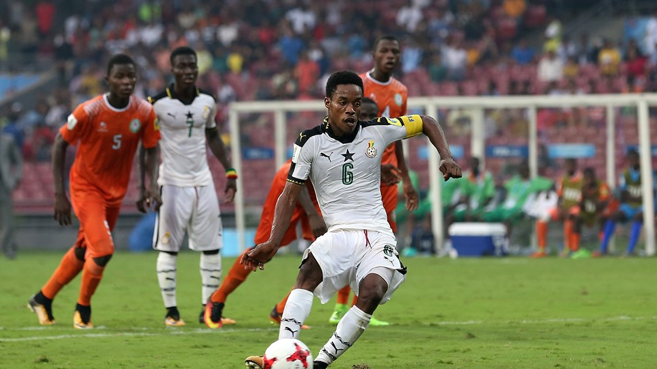 2017 FIFA U17 World Cup: Ghana beat Niger 2-0 to reach quarter-final