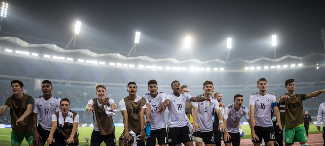 2017 FIFA U17 World Cup: John Yeboah scores as Germany crush Colombia to reach quarters