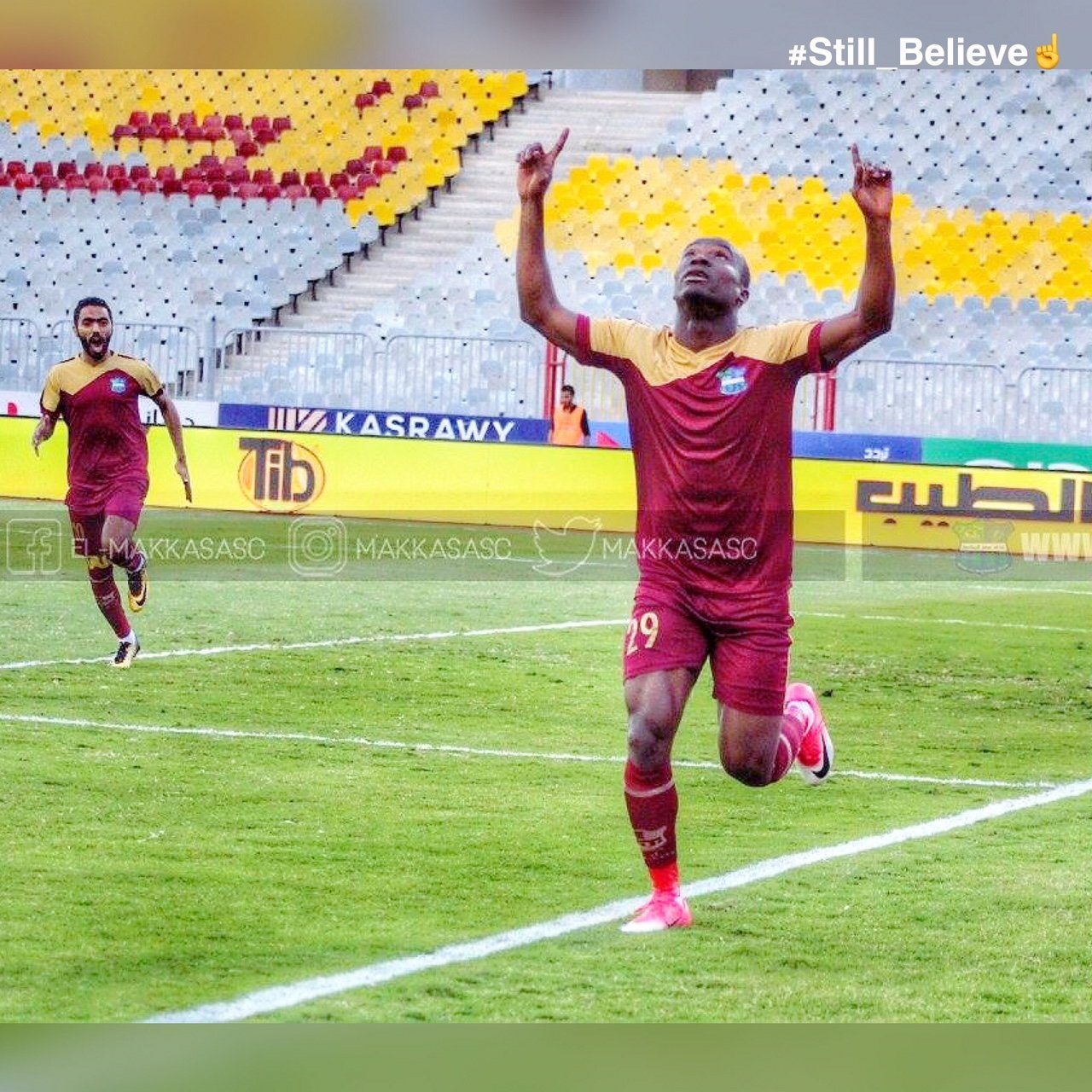 Ghana striker John Antwi returns to scoring ways in Misr Lel Makasa win over Petrojet