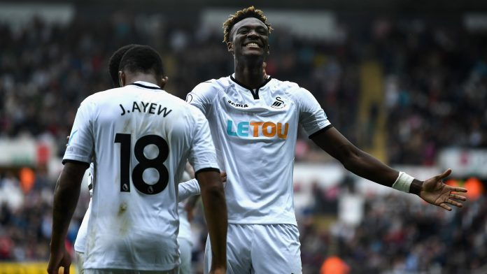 Jordan Ayew produces delicate assist as Swansea City defeat Huddersfield Town
