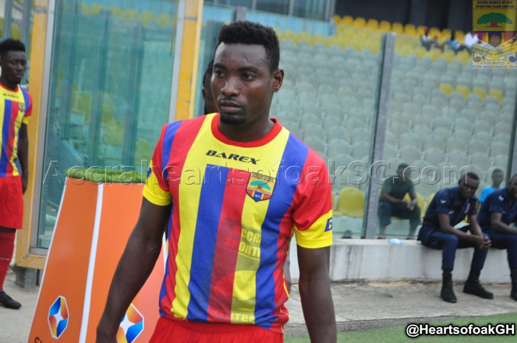 Hearts of Oak defender Joshua Otoo elated with return to the team