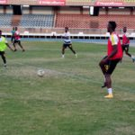 Photos: Black Stars first training in Kenya ahead of Uganda clash