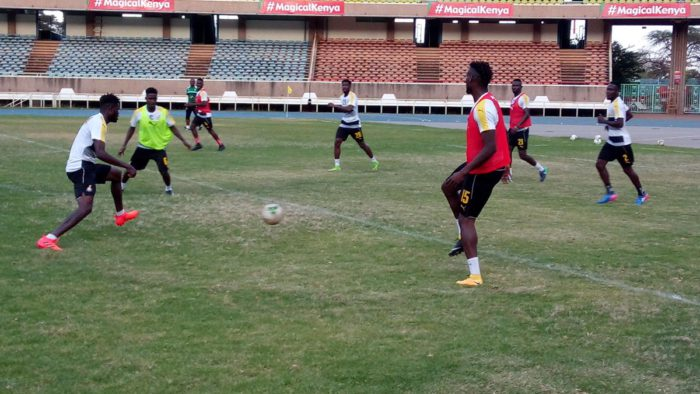 VIDEO: Watch Black Stars training at the Kasarani in Kenya ahead of Uganda clash