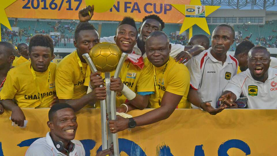MTN FA Cup: Asante Kotoko to now play Bepong Storm Academy after Kwahu Youth Academy lose protest