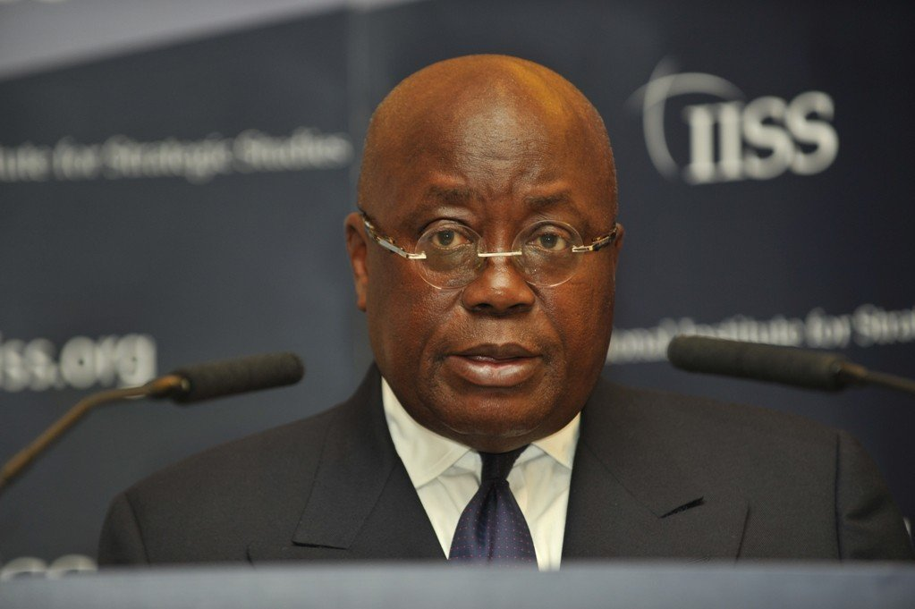President Nana Akuffo Addo: 'I'll will not interfere in football administration'