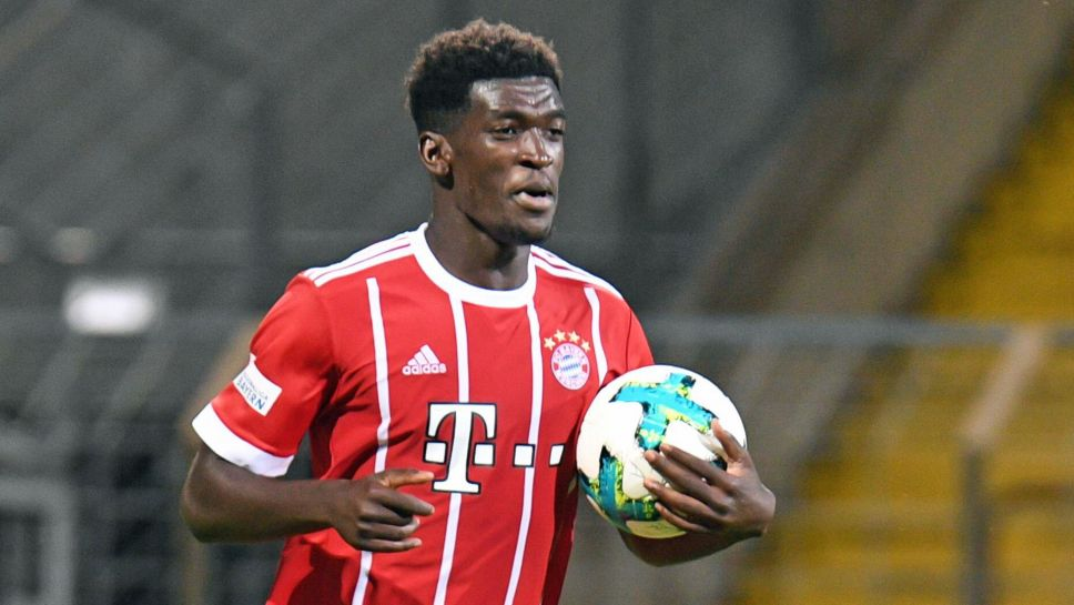 Youngster Okyere Wriedt named in Bayern Munich squad to face PSG