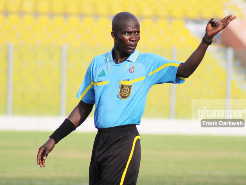 Referee Prince Amoah's appeal dismissed