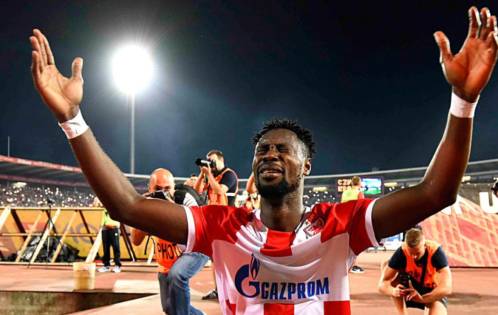 Boakye Yiadom's four-goal haul hands Red Star Belgrade win against Rad Beograd