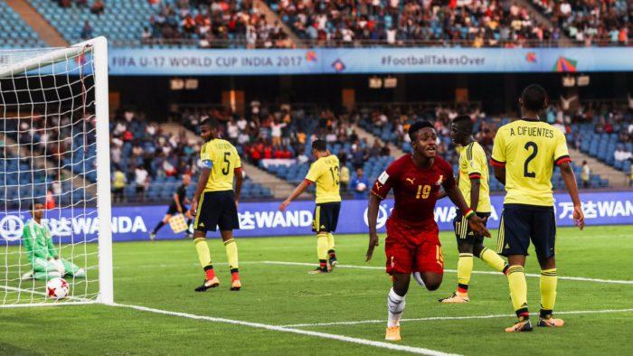 FIFA U17 World Cup: Winger Ibrahim Sadiq scores Ghana's first goal at the global mundial in 10-years