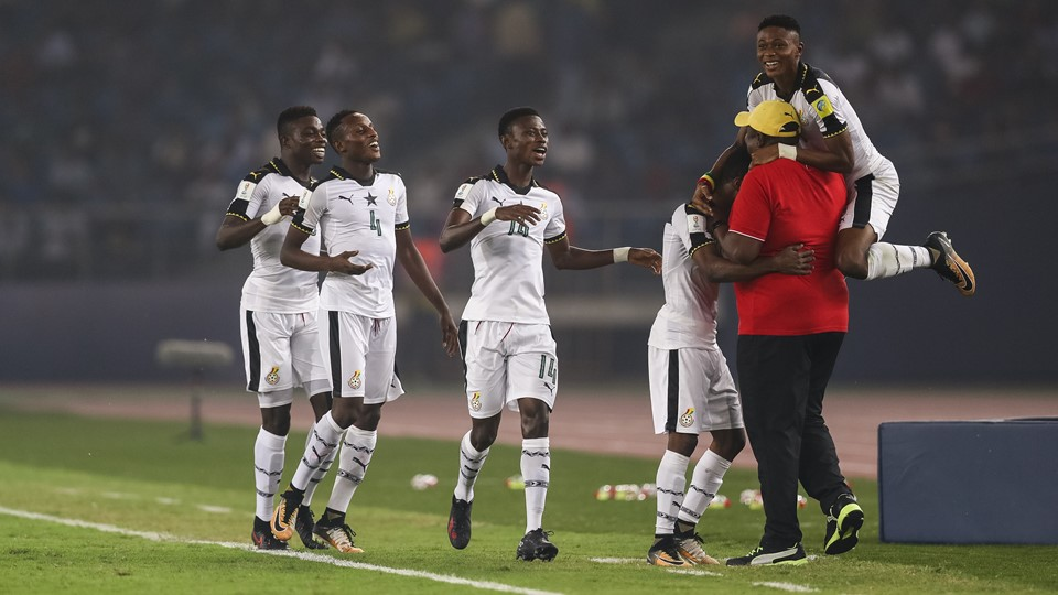FIFA U17 World Cup: Ghana coach Paa Kwesi Fabin delighted with heavy win over hosts India