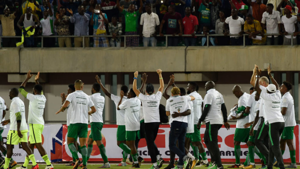 Bumper cash for Nigeria players as Super Eagles to share $12.5m FIFA qualification bonus