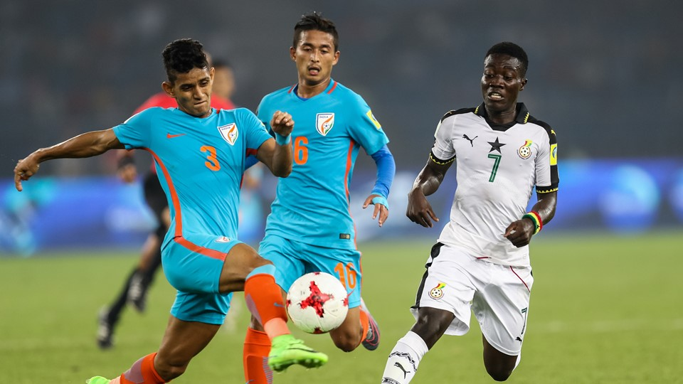 2017 FIFA U17 World Cup: Ghana hit hosts India for four to progress as Group A leaders