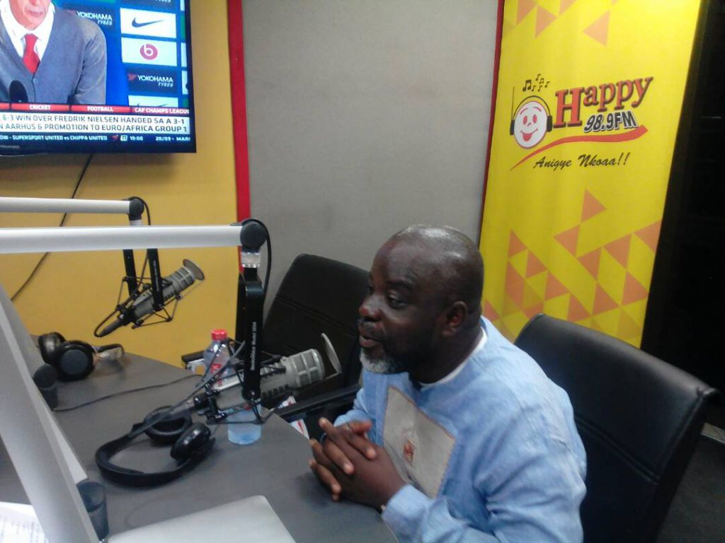 Ghana FA Ex.Co member Wilfred Osei fumes at FAKE reports government barred him from attending FIFA Congress