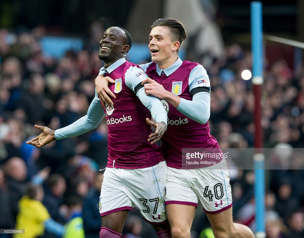 Albert Adomah scores to secure victory for Aston Villa over Fulham in Championship