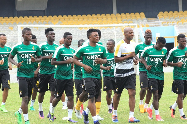 Black Stars to start training at Legon Presec Park on Tuesday ahead of Japan, Iceland friendlies