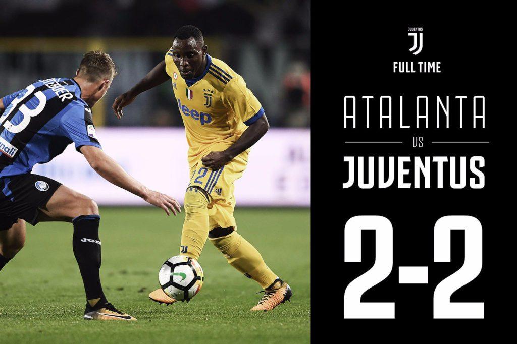 kwadwo asamoah gets rare game time but juventus held by ambitious atalanta