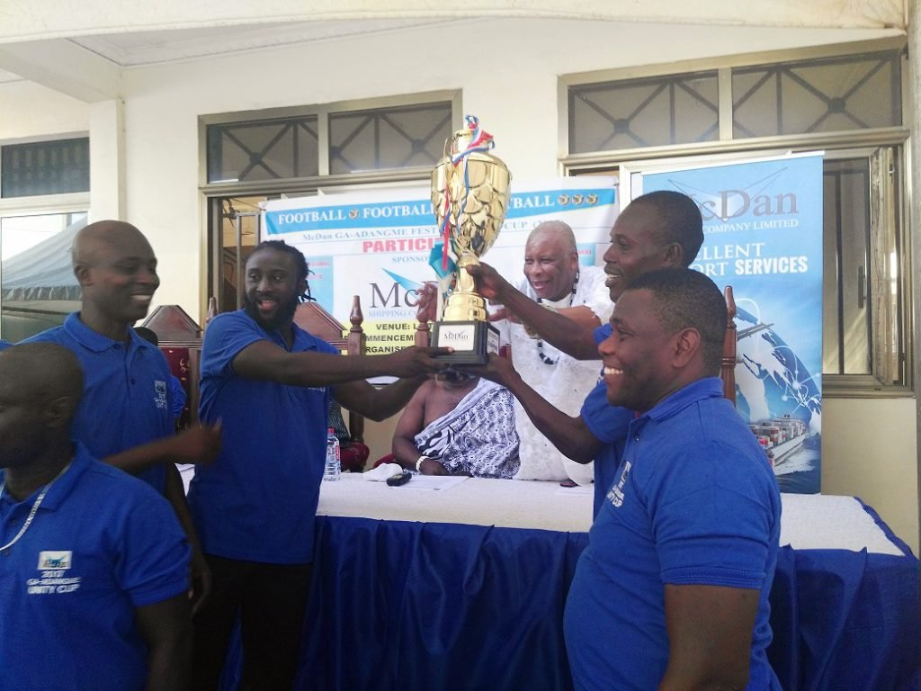 McDan Ga-Adangbe Unity Cup 2017 launched …$2,000 plus giant trophy for winners