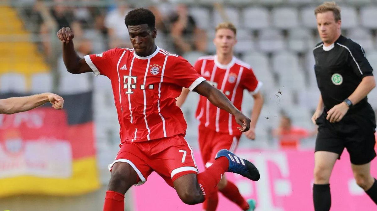 Ghanaian striker Okyere Wriedt named on Bayern's bench for the first time this season