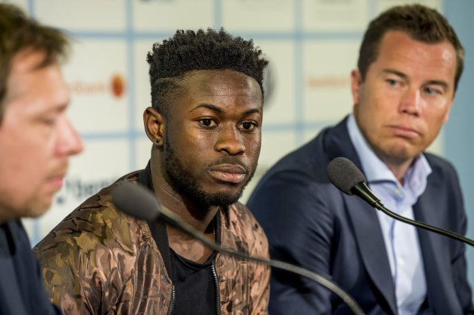 Malmö battles Sirius FC for refund of Kingsley Sarfo's 14 million transfer fee