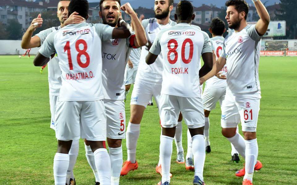 Ghana international Mahatma Otoo scores twice as Balikerispor thump Kardemir Karabukspor