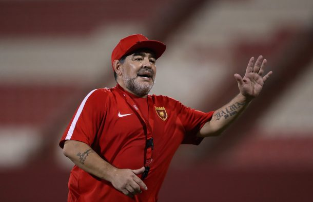 Football legend Maradona backs Egypt to qualify for 2018 World Cup ahead of Ghana