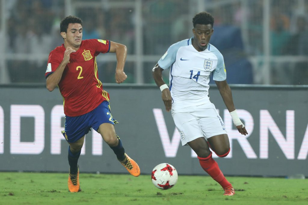 Ghanaian youngster Callum Hudson-Odoi wins U17 World Cup with England after fightback against Spain