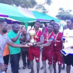 Osu Community are champions of 2017 Homowo Beach Soccer Cup