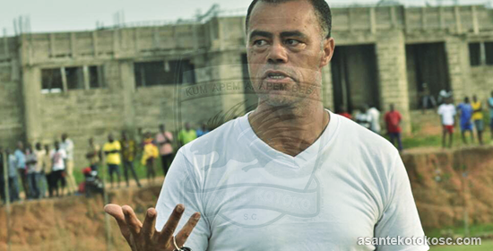 Kotoko coach Steven Polack urges fans to be positive ahead of MTN FA Cup final