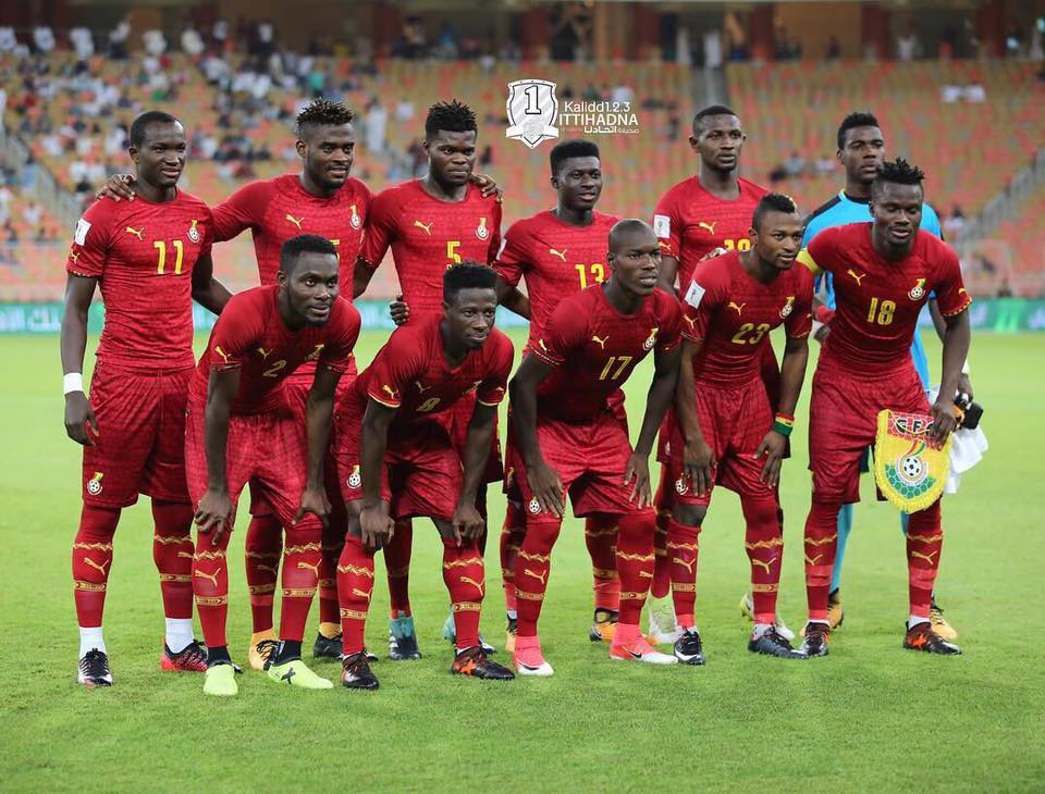 Ghana remain stagnant in 52nd position on latest FIFA ranking for October