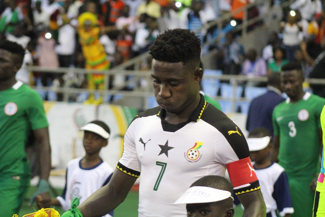 Inter Allies star Isaac Twum marks Black Stars debut in 3-0 win over Saudi Arabia