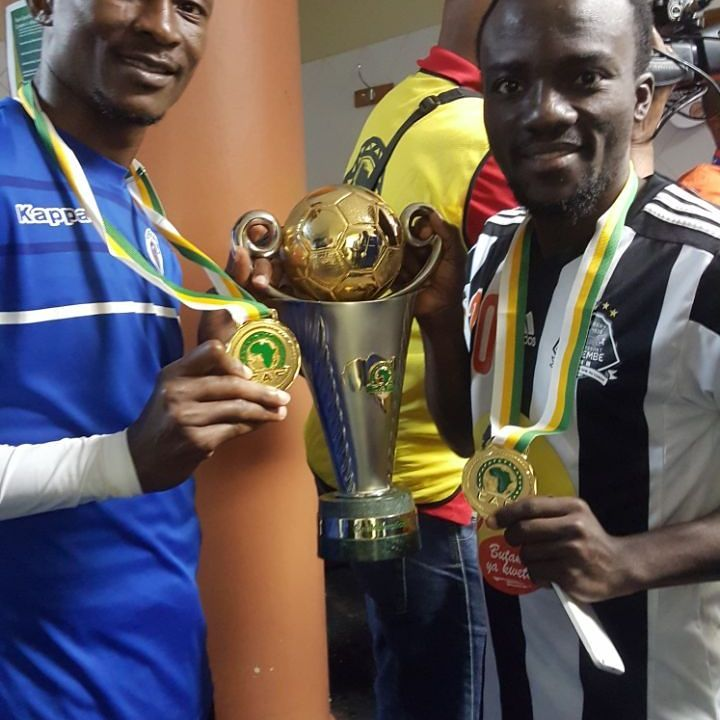 Ghanaian duo retain CAF Confederation Cup with TP Mazembe after holding SuperSport