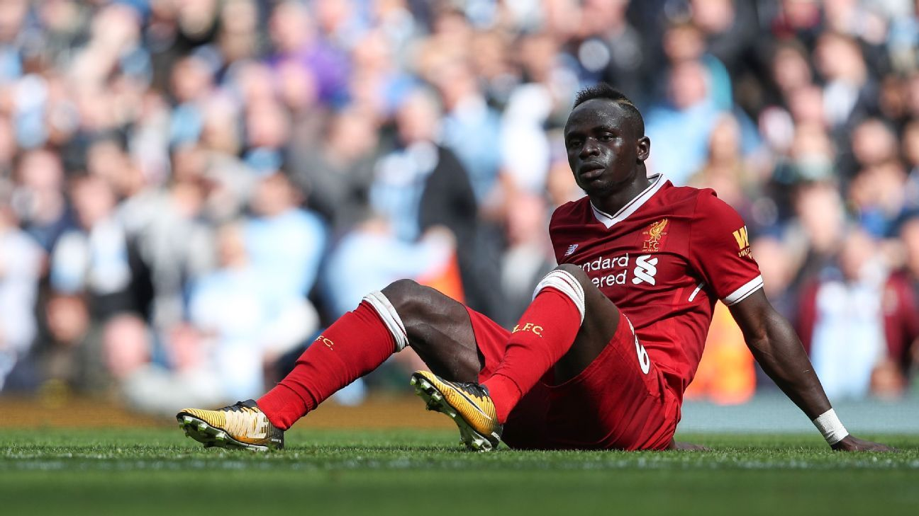 Liverpool striker Sadio Mane returns early from Senegal duty after hamstring tweak