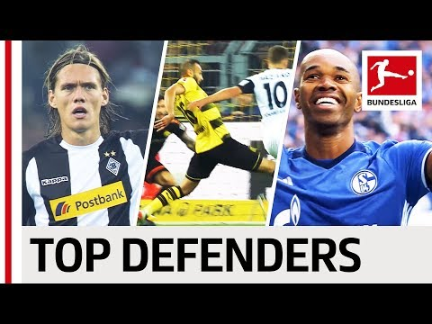 Top 5 Defenders - 2017/18 Season So Far