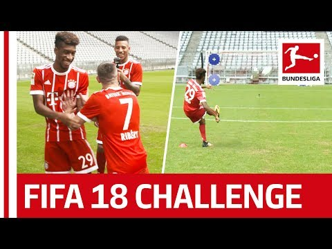 Ribery Bringing French Magic For Bayern - EA Sports FIFA 18 Bundesliga Free Kick Challenge