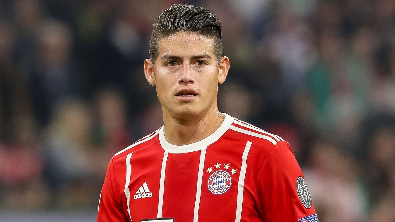 James Rodriguez returns to Bayern training after leaving ...