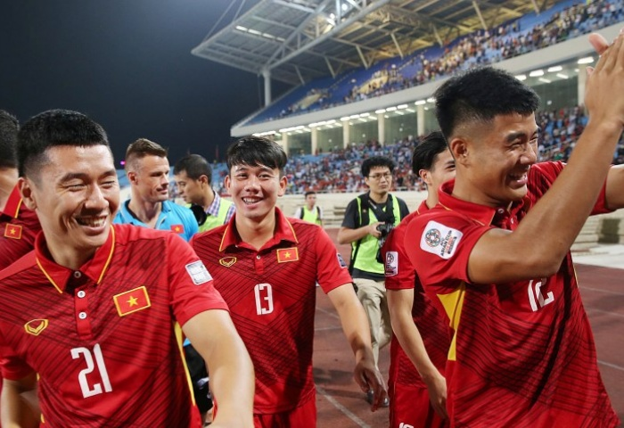 Draw fails to stop Vietnam from sealing Asian Cup berth