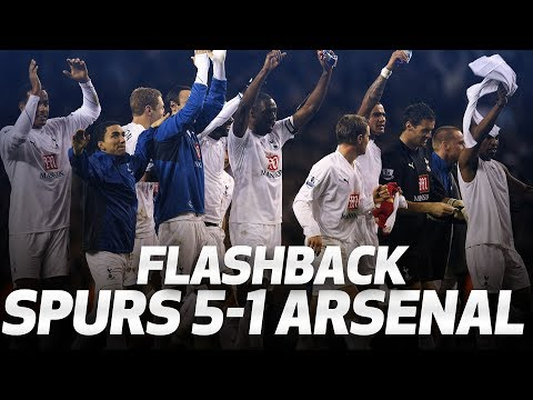 FLASHBACK | Spurs 5-1 Arsenal (January 2008)