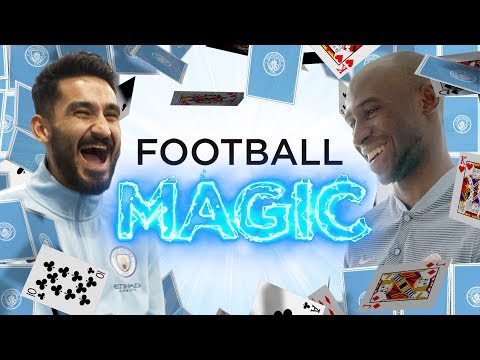 FOOTBALL MAGIC! | Gundogan & Mangala Speechless