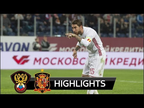 Russia vs Spain 3-3 - All Goals & Extended Highlights - Friendly 14/11/2017 HD
