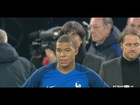 Germany vs France - Extended Highlights(Friendly) - 14/11/2017