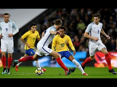 Neymar Jr vs England - International Friendly - 14/11/2017