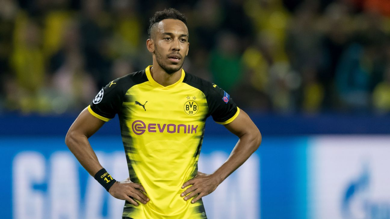fbb684761 Pierre-Emerick Aubameyang upset by Borussia Dortmund suspension ...