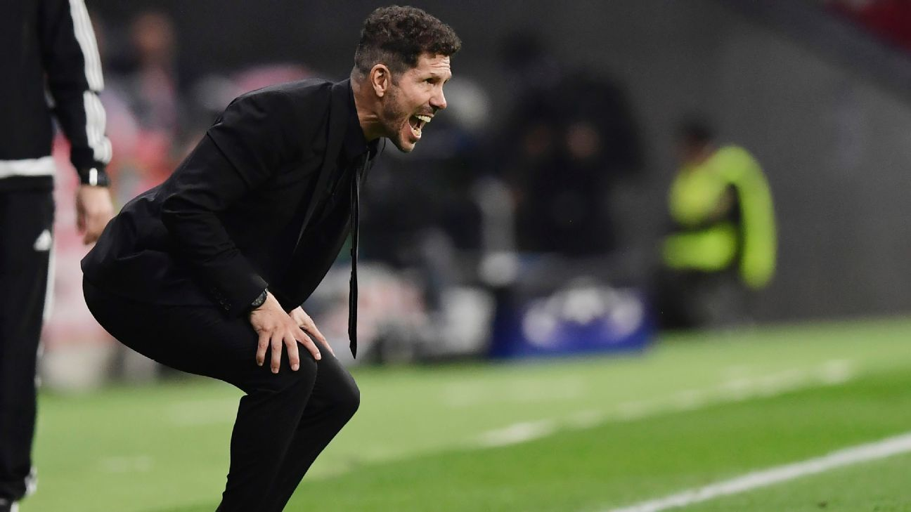 Atletico boss Diego Simeone dismisses links to Everton move